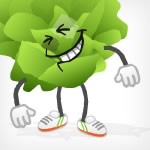 Freelance Animation / Lenny the Lettuce character