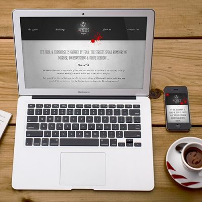 Freelance Web Design 3 of 3 • Dr Knox's Enigma website