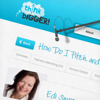 Freelance Web Design 2 of 3 • ThinkBigger! website