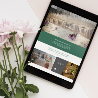 Freelance Web Design 1 of 3 • Up Marquees website